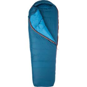 Marmot Yolla Bolly 15 Saco de Dormir Largo, denim/atlantic